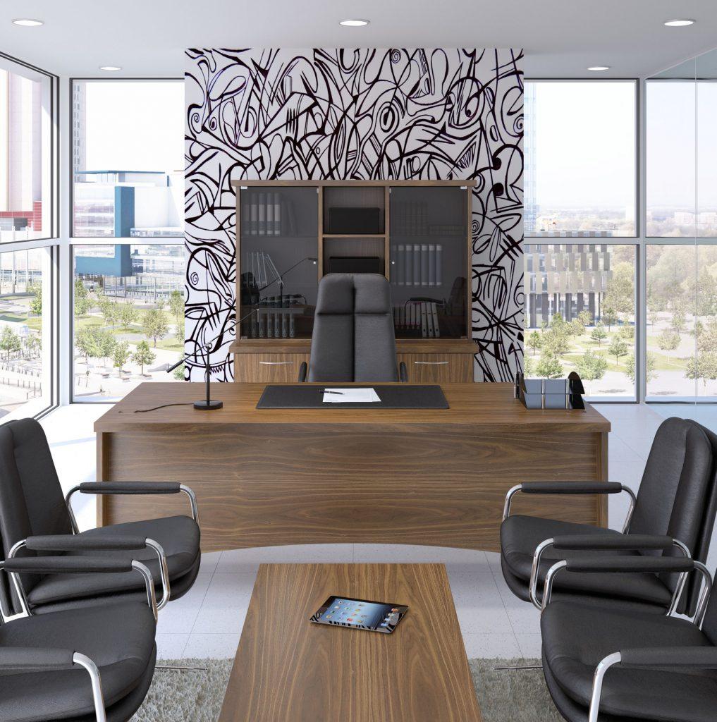 Sven Christiansen Fulcrum Executive Office Furniture