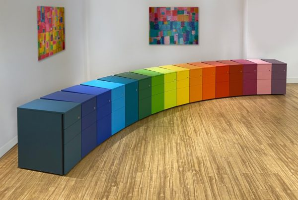 Sven Christiansen pedestal storage ambus x-range